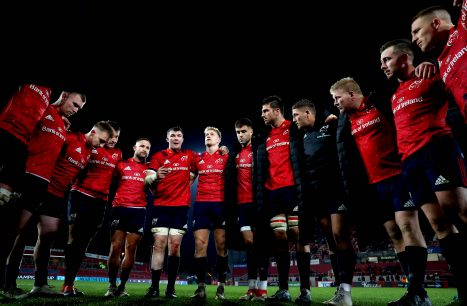 Munster face Saracens on Saturday at Thomond Park.
