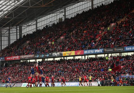 Munster face Leinster at Thomond Park on Saturday, December 28, at 6pm.