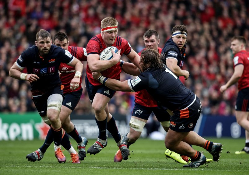 John Ryan will make his 150th Munster appearance against Saracens on Saturday.