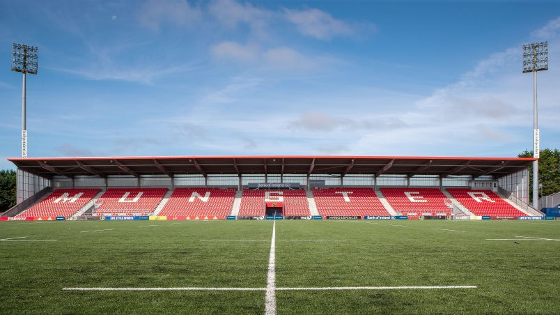 The new facility is being built at Irish Independent Park in Cork.