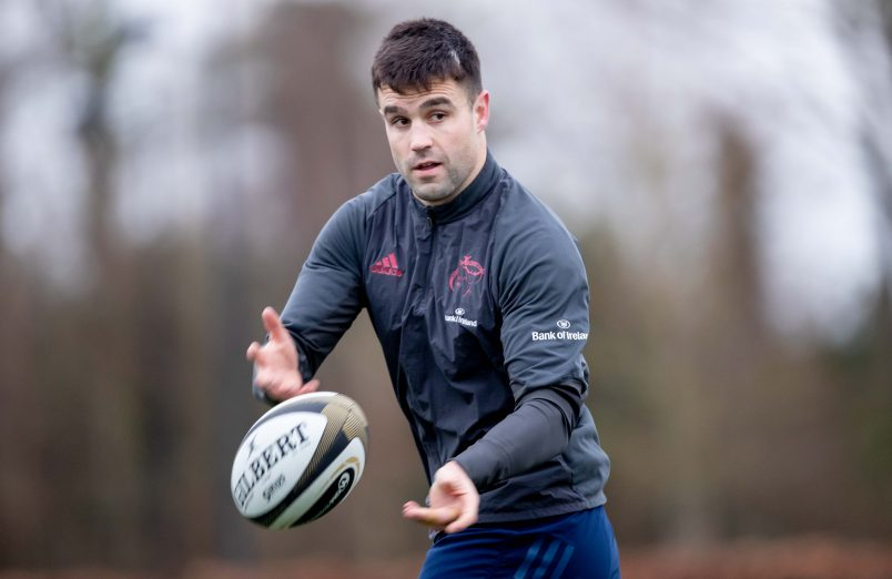 Conor Murray starts at scrum-half against Ulster.