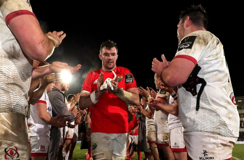 Peter O'Mahony after the defeat to Ulster.