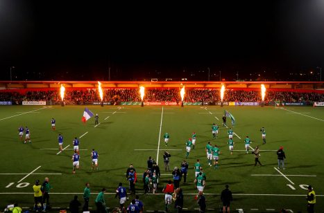 The Ireland U20s play three games at Irish Independent Park in the coming weeks.