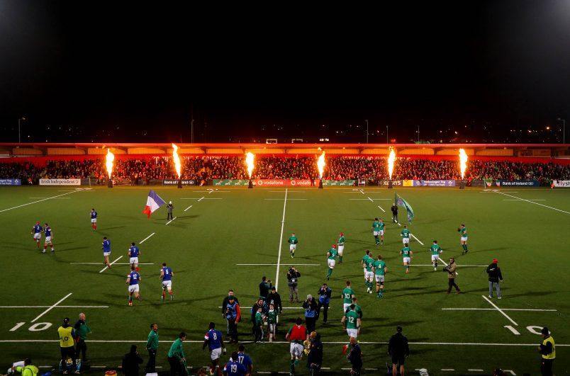 The Ireland U20s