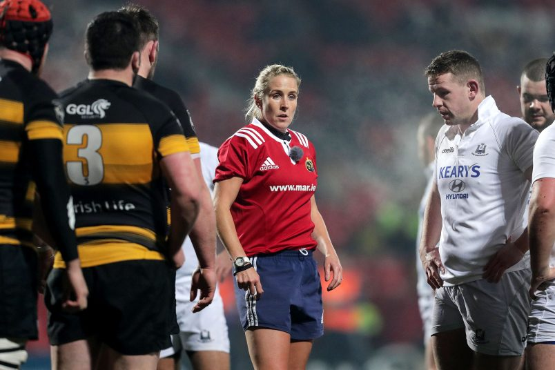 The Munster Association of Referees is recruiting new members.