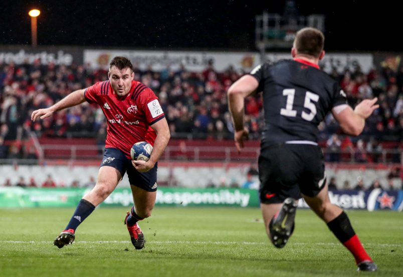 Niall Scannell in action against Saracens.