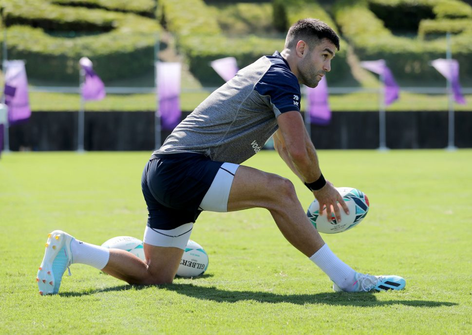 Conor Murray starts against Wales.