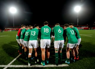 The Ireland U20s face Wales in Cork on Friday night.