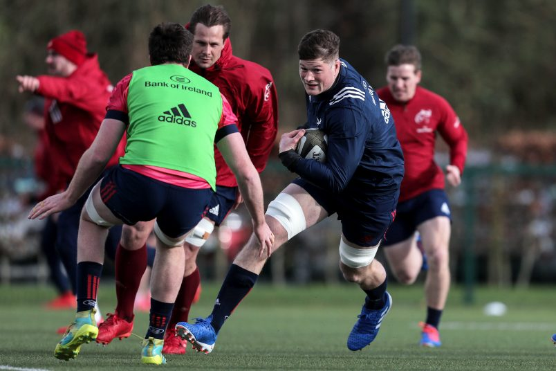 Jack O'Donoghue has returned from the Ireland camp ahead of Friday night