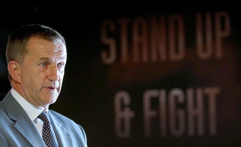 Retired Munster Chief Executive Officer Garrett Fitzgerald