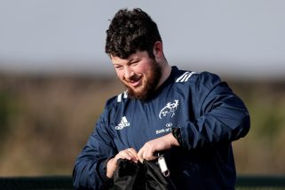 Ciaran Parker made his return from injury for Shannon RFC.