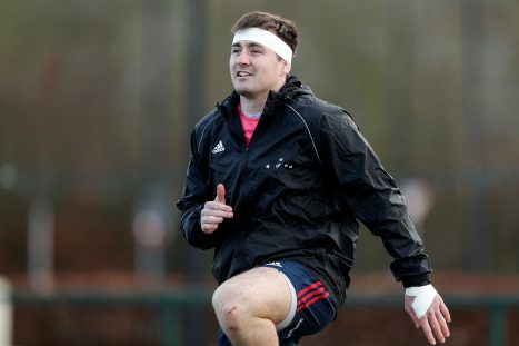 Niall Scannell captains Munster on Friday night.