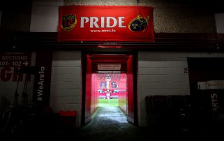 Munster face Cardiff Blues, Glasgow Warriors and Connacht at Thomond Park in the final three home games of the season.