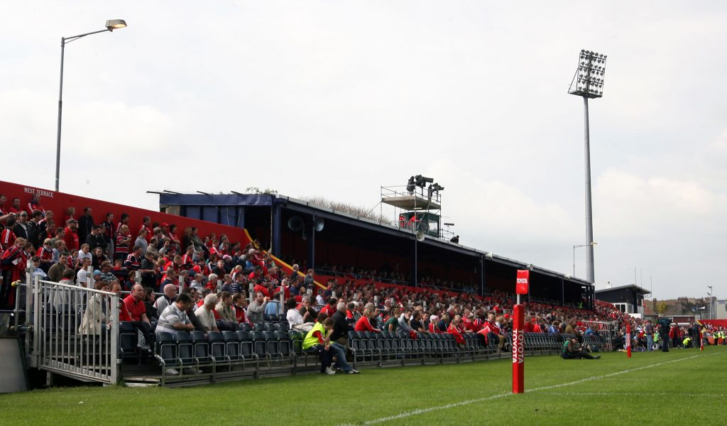 The old West Stand was replaced in 2011.