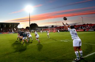Munster in pre-season action against London Irish at Irish Independent Park in 2013.