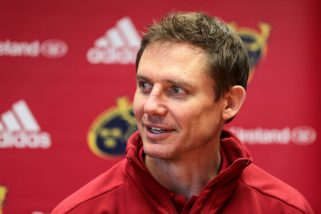 Munster Senior Coach Stephen Larkham.