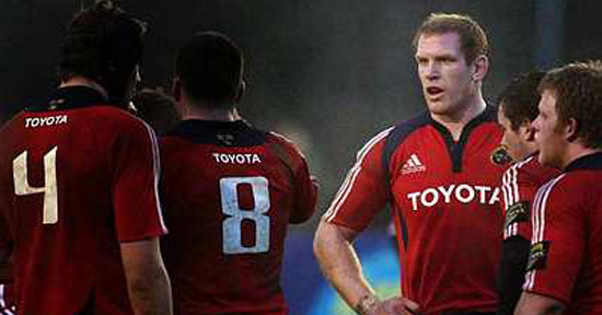O'Connell, Quinlan, Stringer & Buckley In Munster Squad