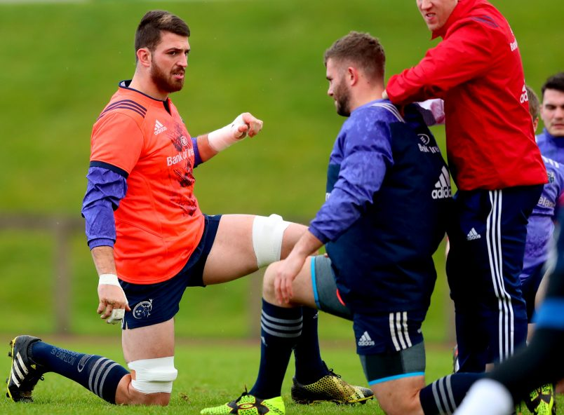 Erasmus Names Munster Side To Face Glasgow