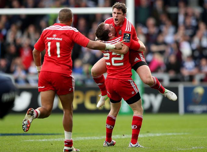 Keatley Kicks Munster On