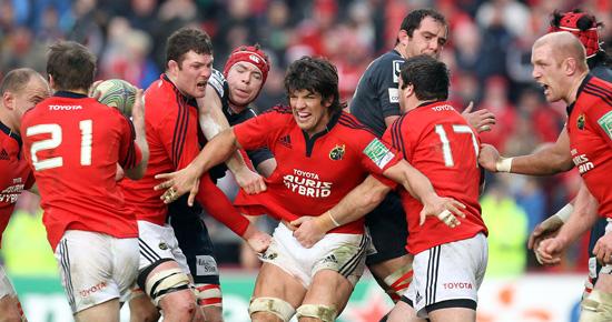 Munster Complete The Scarlets Job.
