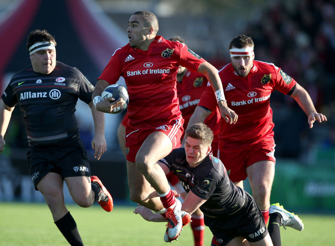 Munster Lose Out In London