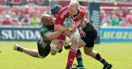 Munster Out Of Amlin
