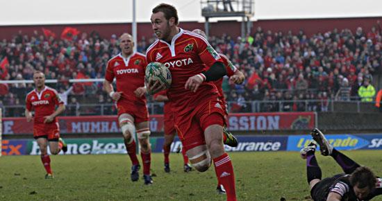 Munster Remain On Track