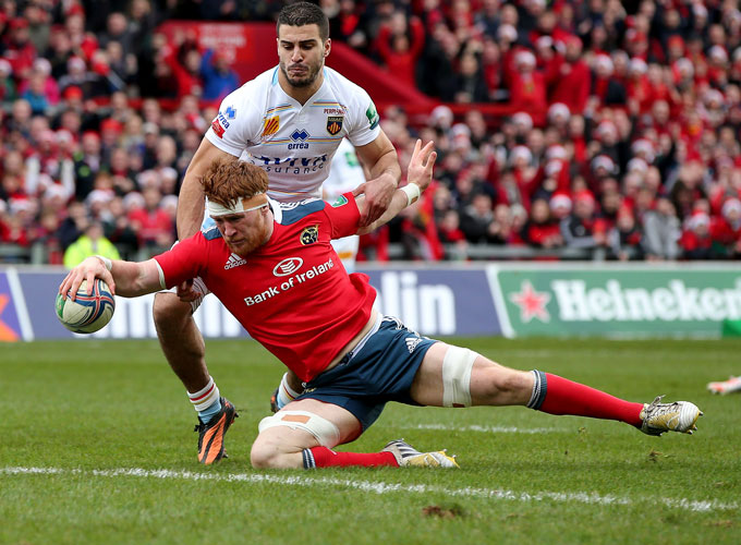 Munster Top Of Group After Bonus-Point Win