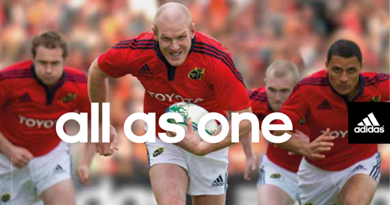 Get the New Adidas Munster Jersey Delivered to You by a Player