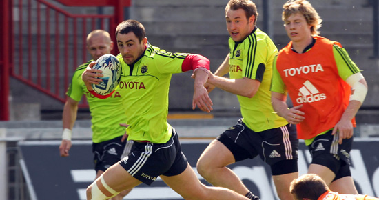 Munster Gearing Up