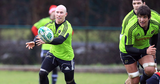 Stringer Withdrawn From Munster Squad