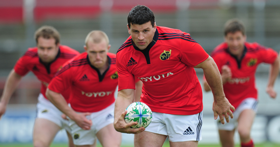Ten Munster Players In Action on Thursday.