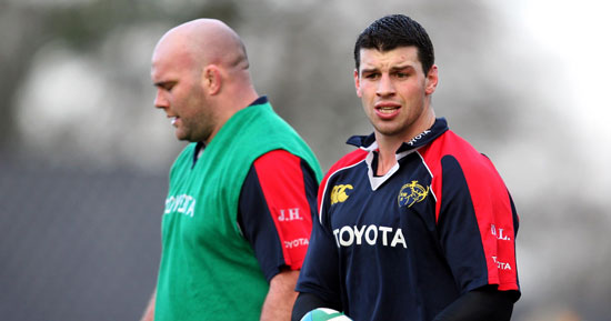 Leamy At Number 8 For Munster