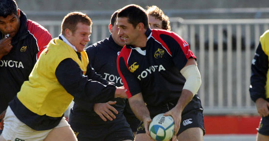 Quinlan In Munster A Squad