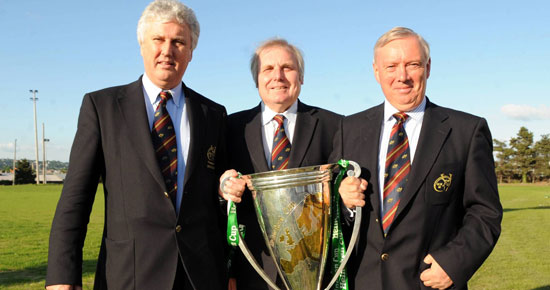 Comyn in as Munster Branch IRFU President
