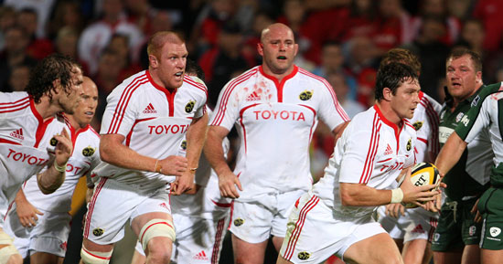 Hayes Out Of Munster Side