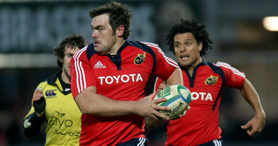 Nine Munster players in Ireland squad.