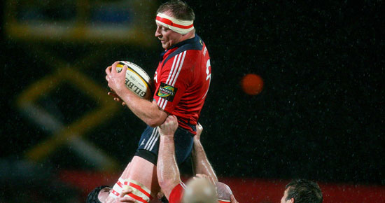 O'Driscoll Leads Munster