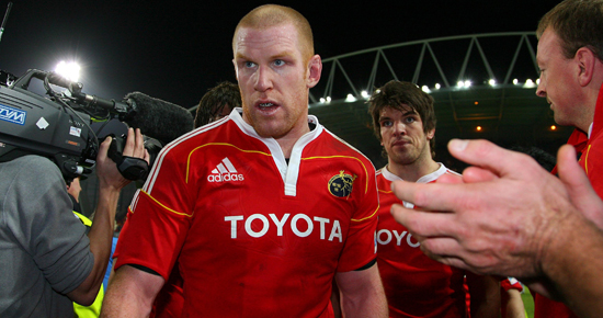In Pics and Video – Munster v Perpignan