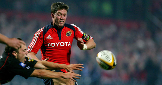 O'Gara and Warwick Named in Munster Squad