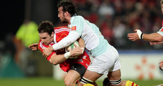 O'Gara Kicks Munster Ahead