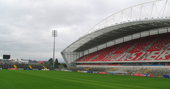 Thomond Park to Host Second Football International