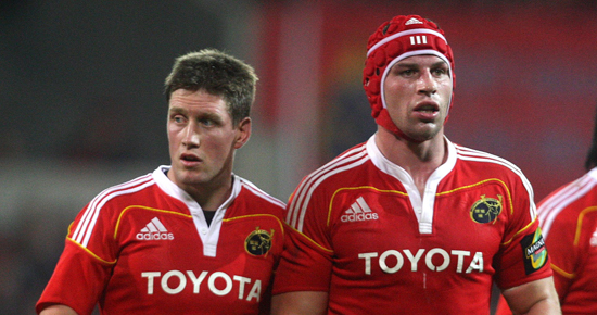 Four Changes As Munster Resume Heineken Campaign