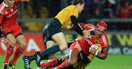 In Pics:  Munster v Australia in the Sony Ericsson Challenge