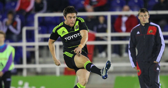 Munster Players Pull Their Weight