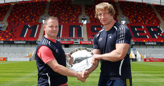 Munster Rugby – Best Supported in Magners League