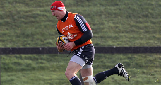 O'Connell Included In Munster Squad