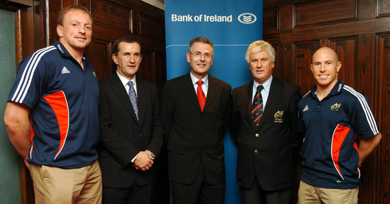 Bank of Ireland Official Bank to Munster Rugby