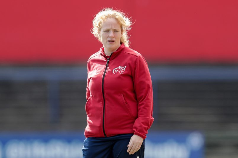 Fiona Hayes coached the Munster U18 Girls to the Interpro title last season.