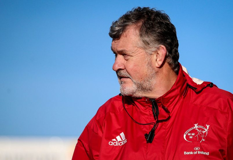 Munster Team Manager Niall O
